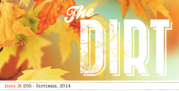 The Dirt - September 2014
